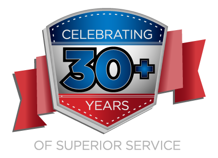 Cardinal celebrates 30+ years of superior service badge